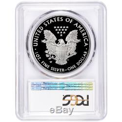 2020-W Proof $1 American Silver Eagle PCGS PR70DCAM Blue Label