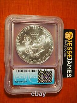 2020 (p) Silver Eagle Icg Ms70 Emergency Issue Minted At Philadelphia Mint Label
