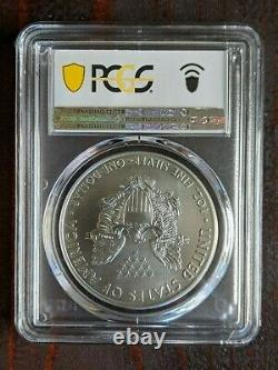 2021 $1 American Silver Eagle PCGS MS70 Emergency Issue FDOI San Francisco
