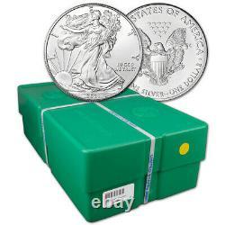 2021 American Silver Eagle 1 oz $1 BU Sealed 500 Coin Monster Box