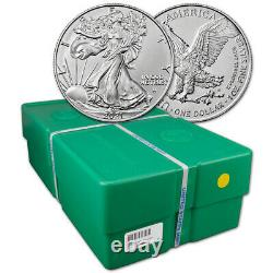 2021 American Silver Eagle Type 2 1 oz $1 BU Sealed 500 Coin Monster Box