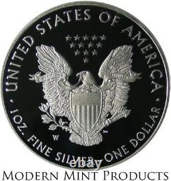 2021-W American Eagle One Ounce Silver Proof Coin 1oz ASE Last Year Type 1 21EA
