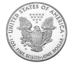 2021-W American Eagle One Ounce Silver Proof Coins (21EA) IN HAND FAST SHIP