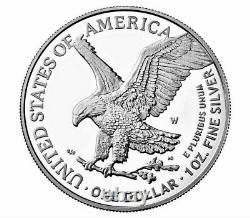 2021-W American Silver Eagle Proof (21EAN) Type-2