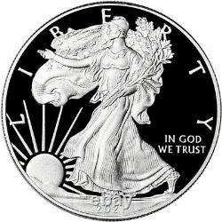 2021 W American Silver Eagle Proof (21EA) in OGP