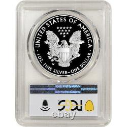 2021 W American Silver Eagle Proof PCGS PR69 DCAM First Strike West Point Label