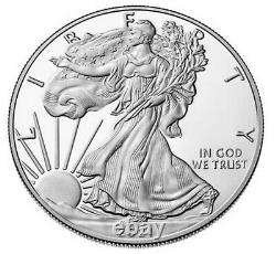 2021 W PROOF SILVER EAGLE, HERALDIC T-1, NGC PF70UC 1st RELEASE, LIMITED MINTAGE