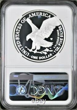 2021 W Proof Silver Eagle, Eagle Landing, Type 2, Ngc Pf70uc Fdoi