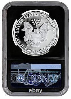 2021 W Silver Proof American Eagle NGC PF70 UC FDI BC Exclusive Eagle Label