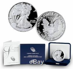 34 Gem Proof American Eagle Set 1986-2020 withOriginal Gov Pkging