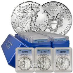 34-pc. 1986 2019 American Silver Eagle Complete Date Set PCGS MS69