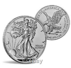 American Eagle 2021 One Ounce Silver Reverse Proof Two-Coin Set Designer Edition