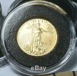American Gold Eagle (1/10 oz) $5 BU Random Date