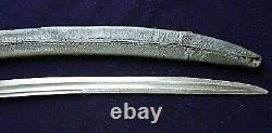 American Revolutionary War Eagle Head Silver Hilt Baltimore Hanger Sword 1775-80