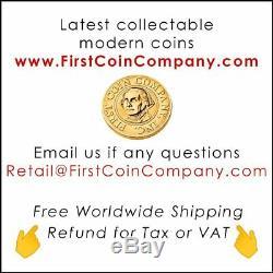 American Silver Eagle COVID VIRUS MONA LISA F COVER $1 Walking Liberty 2020 Coin
