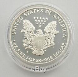COMPLETE Set 1986-2020 American Silver Eagle Proof 1 Oz Box & COA Collection
