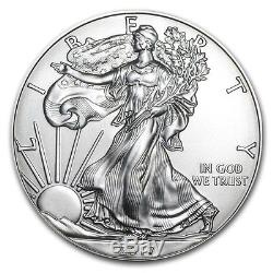 (LOT OF 20000) 1 OUNCE 2018 SILVER AMERICAN EAGLE S. 999 1oz. XR17 CITY