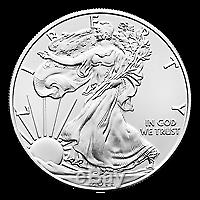 Lot of 100 x 1 oz Random Year American Eagle Silver Coin