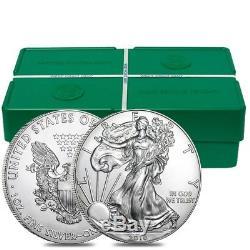 Lot of 10 2018 1 oz Silver American Eagle $1 Coin BU