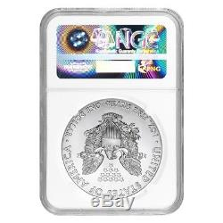 Lot of 10 2018 1 oz Silver American Eagle $1 Coin NGC MS 70 Early Releases