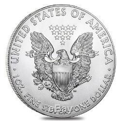 Lot of 5 2019 1 oz Silver American Eagle $1 Coin BU
