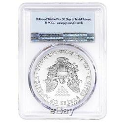 Lot of 5 2020 1 oz Silver American Eagle $1 Coin PCGS MS 70 FS (Flag Label)