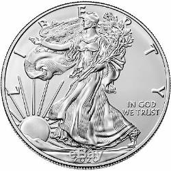 Lot of 60 2020 $1 American Silver Eagle 1 oz Brilliant Uncirculated 3 Full Rol