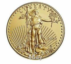 PRESALE- American Eagle 2020 One Ounce Gold Uncirculated Coin (20EH) UNOPENED
