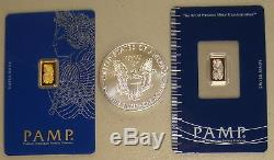 Pamp Suisse Gold Silver & Platinum Precious Metals Pack 2018 American Eagle