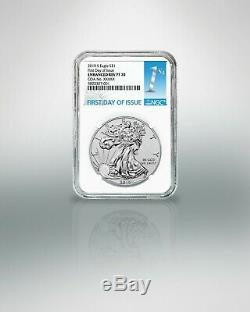 Presale 2019 S Enhanced Reverse Proof Silver Eagle Ngc Pf70 First Day Of Issue