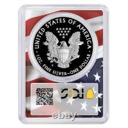 Presale 2020-S Proof $1 American Silver Eagle PCGS PR70DCAM FDOI Trump 45th Pr
