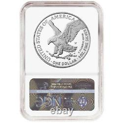 Presale 2021-W Proof $1 Type 2 American Silver Eagle NGC PF70UC Brown Label