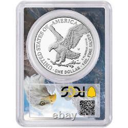 Presale 2021-W Proof $1 Type 2 American Silver Eagle PCGS FS PR70DCAM Eagle Fr
