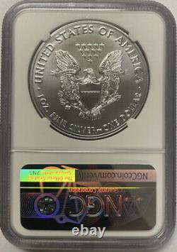 Presale 2021 (p) $1 American Silver Eagle Ngc Ms70 Emergency Production Fdi