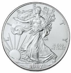 Presale Lot of 20 2021 $1 American Silver Eagle 1 oz Brilliant Uncirculated