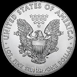 ROLL 2021 1 OZ SILVER EAGLE Type 1 Reverse (Last Year of the Heraldic Eagle)