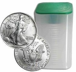 Roll Of 20 1986 $1 Silver American Eagles 1 oz Coins BU