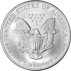 Roll of 20 2005 American Silver Eagle NGC Gem Uncirculated