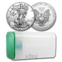 SPECIAL PRICE! 2019 1 oz Silver American Eagle BU (Lot of 20) SKU #185508