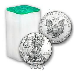 SPECIAL PRICE! 2020 1 oz Silver American Eagle BU (Lot of 20) SKU#205553