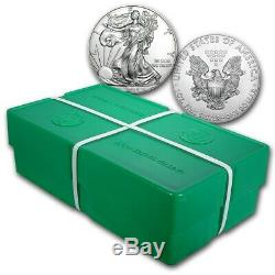 SPECIAL PRICE! BANK WIRE! 2019 1 oz Silver American Eagle BU Monster Box