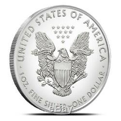 Sealed Monster Box of 500 $1 American Silver Eagle Coin 1 Oz. 999 Fine BU