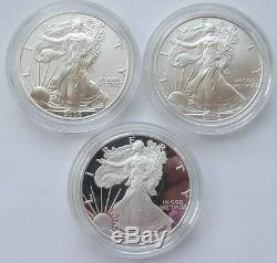 United States American Eagle 20th Anniversary Silver Coin Set Mint